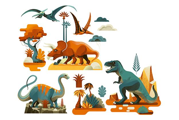 Stickers Dinosaurios