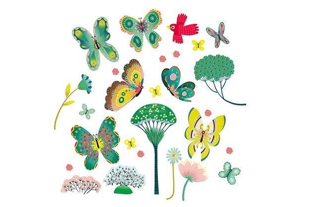 Stickers Mariposas