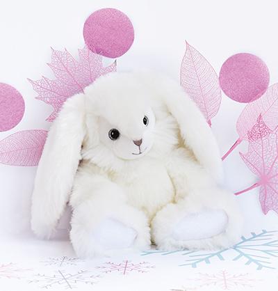 Lapin pimpant blanc