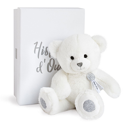 Ours Charms blanc