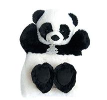 Douce marionnette panda