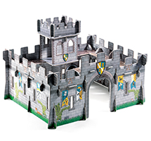 Pop to play Castillo medieval 3D
