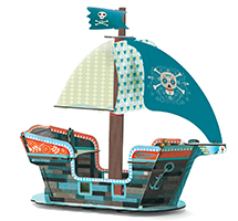 Pop to play Barco pirata 3D