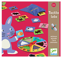 Educativos Tactilo loto animales