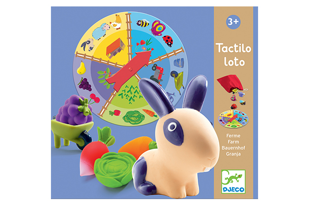 Educativos Tactilo loto granja