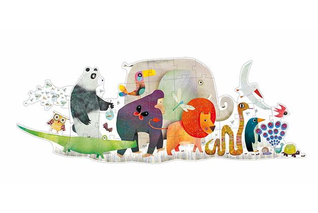 P. Gigante El Desfile de los animales
