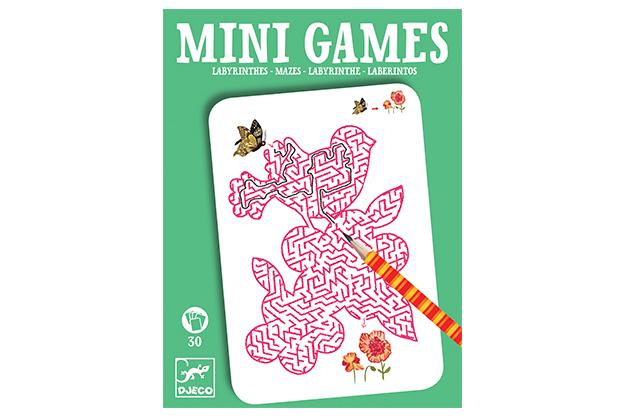 Mini-juegos laberintos de Ariana