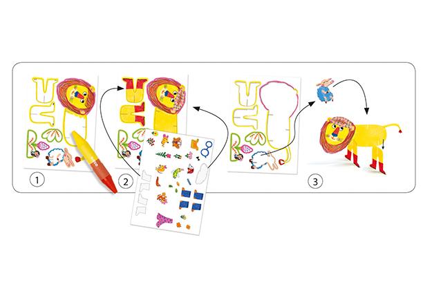 Dibujos para colorear Todos amigos
