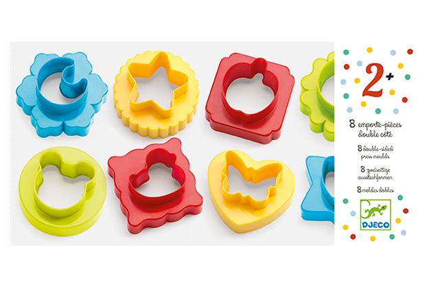 Pasta moldear 8 moldes dobles