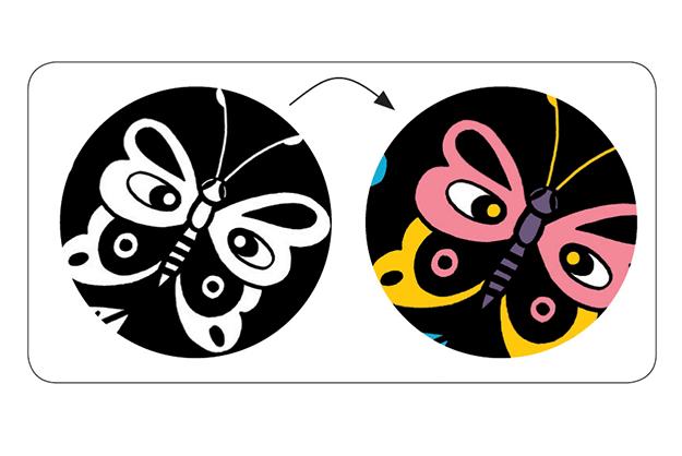 Colorea terciopelo Bichos