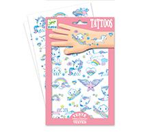Unicornios - tatuajes temporales