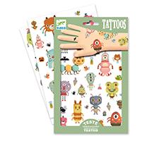 Monstruos - tatuajes temporales