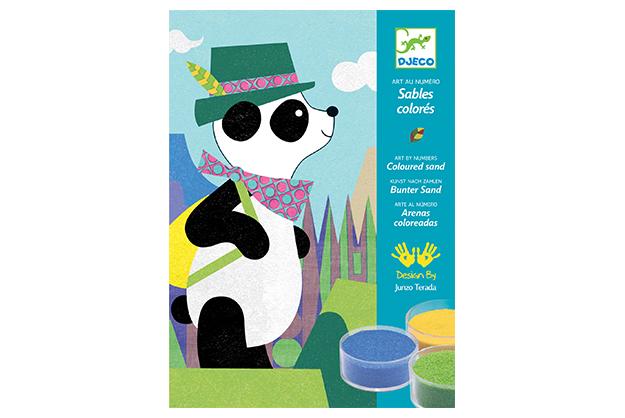 Arenas Panda y sus compañeros
