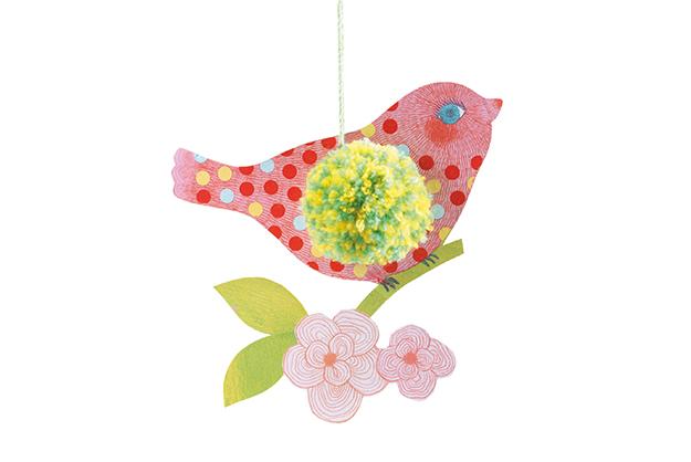 Lana Pompones pájaros