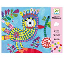 Mosaicos Pájaro y mariquita