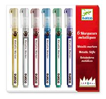 Colores Rotuladores metálicos
