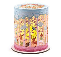 Mini lámpara de noche Bosque mágico