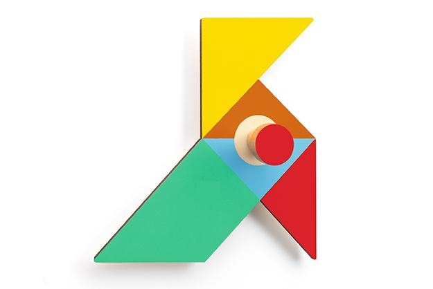 Colgador Origami