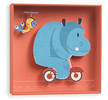 Cuadro Hipopótamo