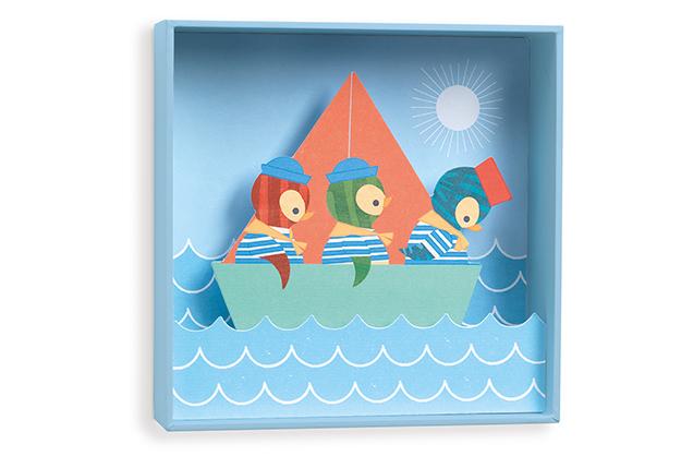 Cuadro Pingüinos marineros