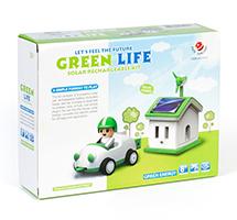 Kit Solar didáctico casita y coche