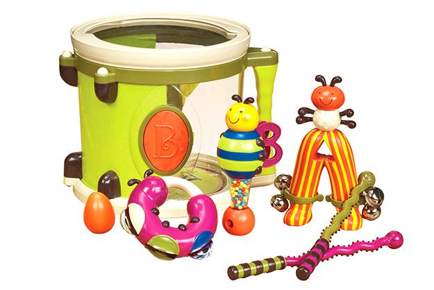 ParumPumPum - tambor y juguetes musicales