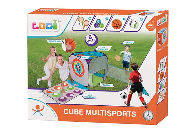 Cubo multideporte - 6 actividades