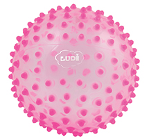 Pelota sensorial rosa